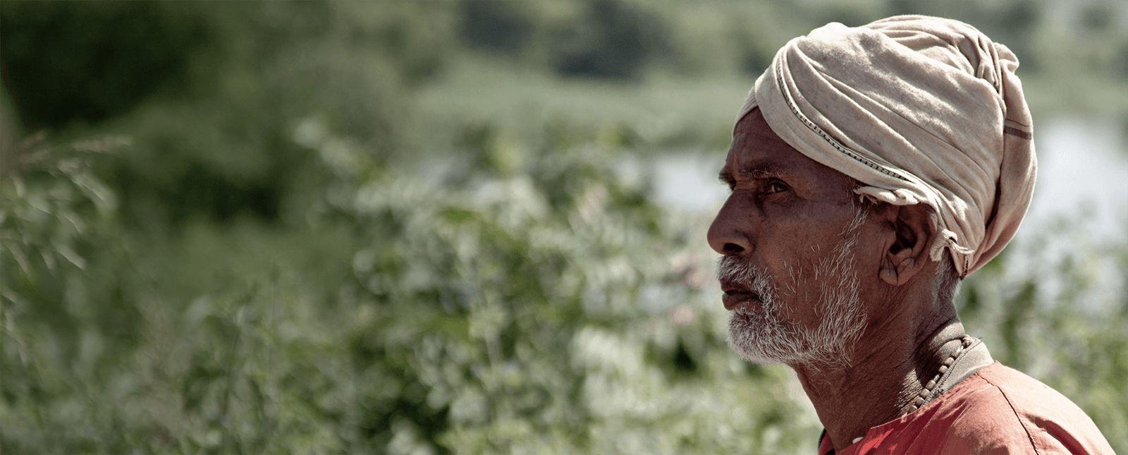 Alter eco sfeerbeeld farmer