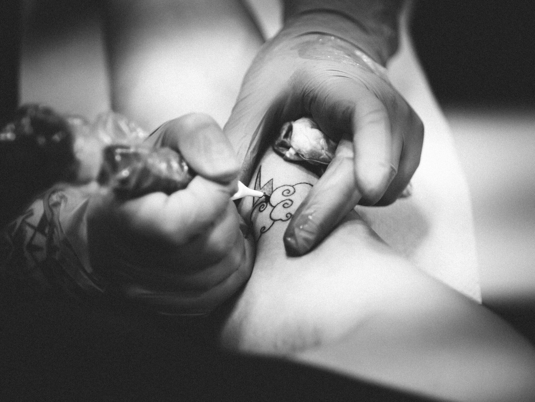 Snip Art tattoo website